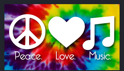 Featured: Peace. Love. Music.