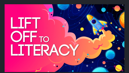 Featured: Lift off to Literacy
